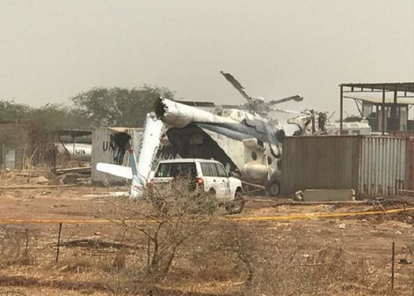 Ethiopian Military Helicopter Crashes In South Sudan
